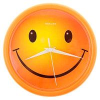 Часы настенные круглые Смайлик