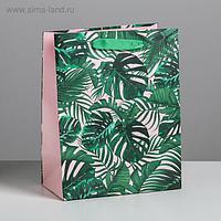 Пакет ламинированный вертикальный «Тропики», MS 18 × 23 × 10 см