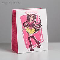 Пакет ламинированный вертикальный «Кукла», MS 18 × 23 × 10 см