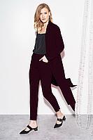 Женские осенние фиолетовые нарядные брюки BURVIN 7320-11 1 42р.