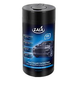 Чистящие салфетки для автомобиля универсальные ZALA 100 шт.