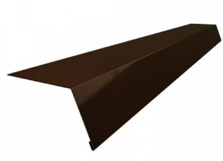 Планка карнизная 100х69х2000 мм Матовый Коричневый RAL 8017