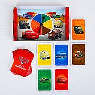 Игра с рулеткой на скорость и внимание, Тачки 22*14см, фото 3