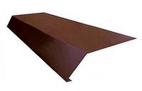 Планка карнизная 100х69х2000 мм Глянец Коричневый RAL 8017