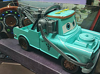 Cars 2 Тачки Мэтр Радиоуправляемый голубой World Grand Prix R/C 27 Mhz, фото 1