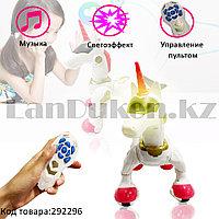 Игрушка Робот Единорог электронная танцующая музыкальная на радиоуправлении Smart Horse 7706