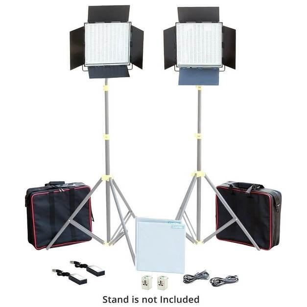 2 х Светодиодных (LED) панеля от Camtree  1000 диодов White LED Lights Kit