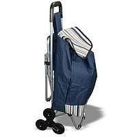 Сумка - тележка на колесах со складным стулом