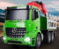 Игрушка лесовоз Mercedes-Benz, фото 1