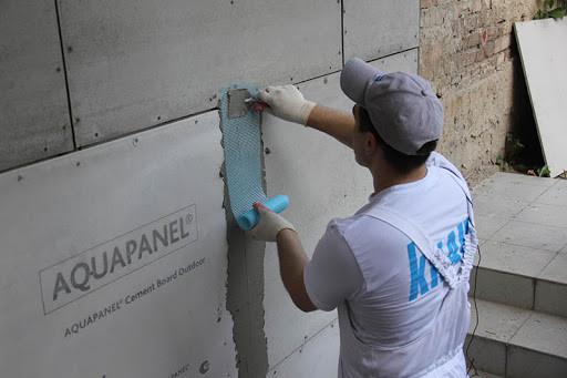 Цементная плита под Аквапанель