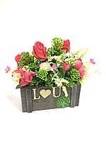 Искусственные подарочные цветы
