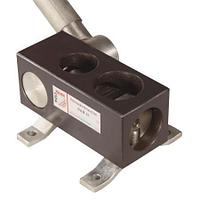 Приспособление для вырубки седловин на торцах труб RAM61