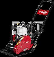 Виброплита бензиновая, двигатель Honda ЗВПБ-10 ГХ серия «ПРОФЕССИОНАЛ» для грунта