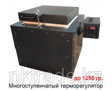 ПМВЗ-2700П Муфельная печь с вертикальной загрузкой