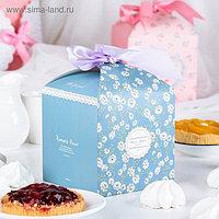 Коробка сборная для сладкого 12 х 12 х 12 см