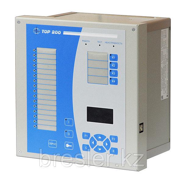 Терминал защиты и автоматики двигателя 6-10 кВ с дифференциальной токовой защитой с торможением типа «ТОР 200
