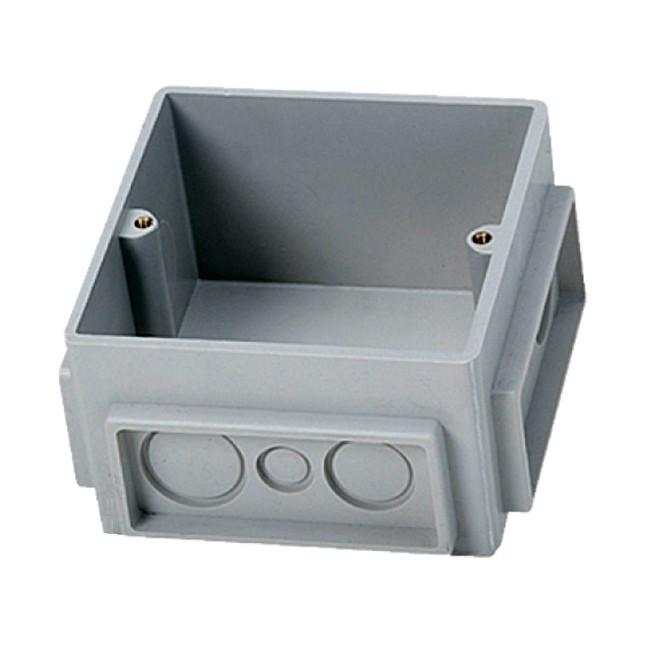Коробка встраиваемая пластик для розетки /650390/