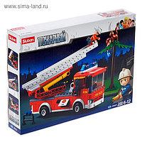 Конструктор «Пожарная машина с лестницей», 269 деталей