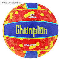 Мяч волейбольный ONLITOP Champion, размер 5, 18 панелей, PVC, машинная сшивка, 260 г