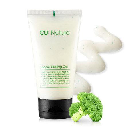 Пилинг-скатка с экстрактом брокколи, CU:NATURE Broccoli Peeling Gel CU SKIN, 100 мл, фото 2