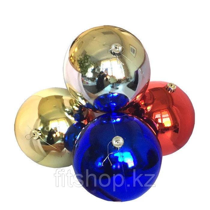 Большие новогодние  шары Диаметр 15 см