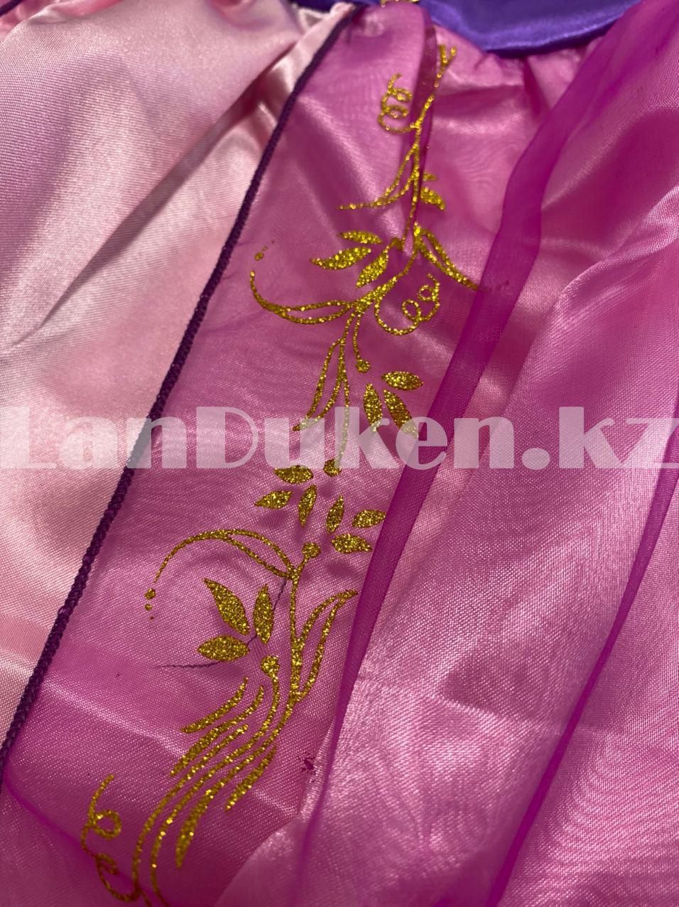 Костюм детский карнавальный Рапунцель принцесса для девочек фиолетовое BN-8002 - фото 6