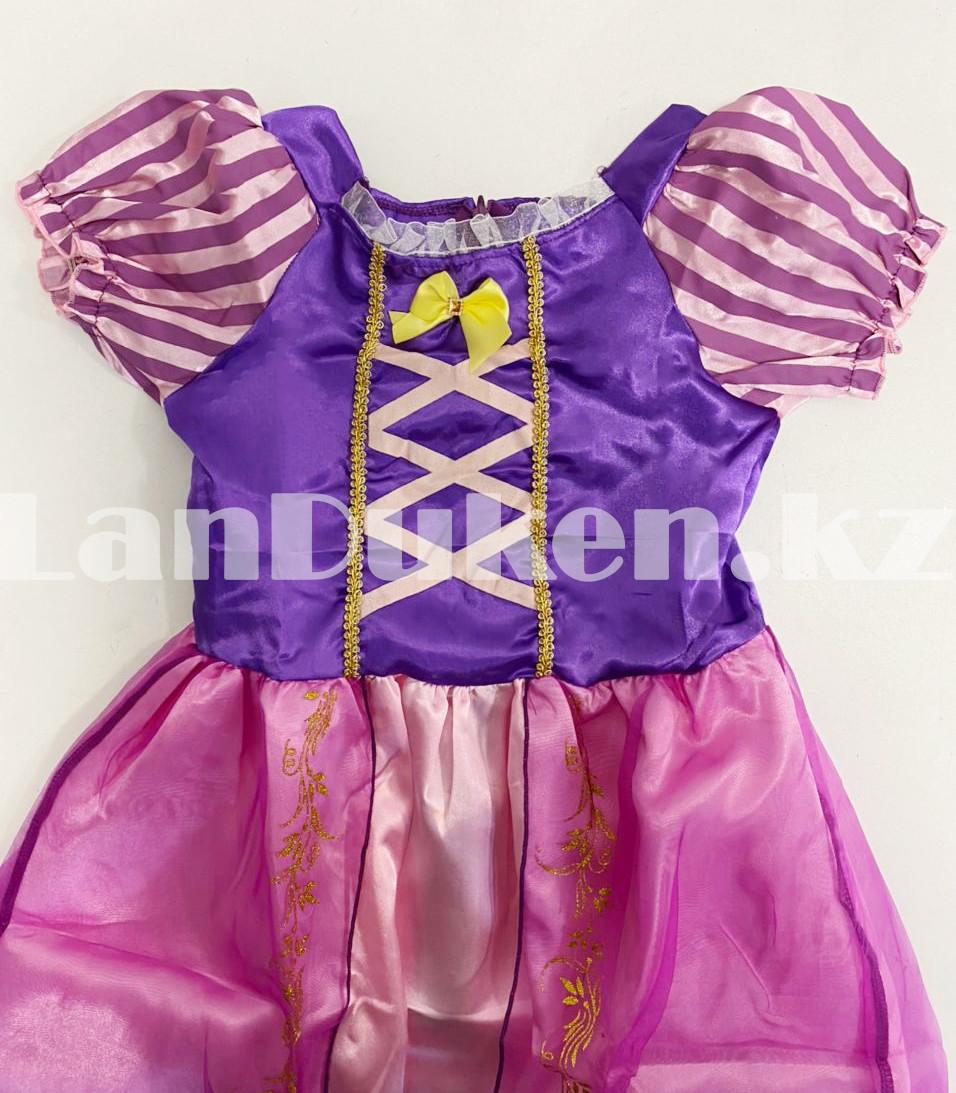 Костюм детский карнавальный Рапунцель принцесса для девочек фиолетовое BN-8002 - фото 7