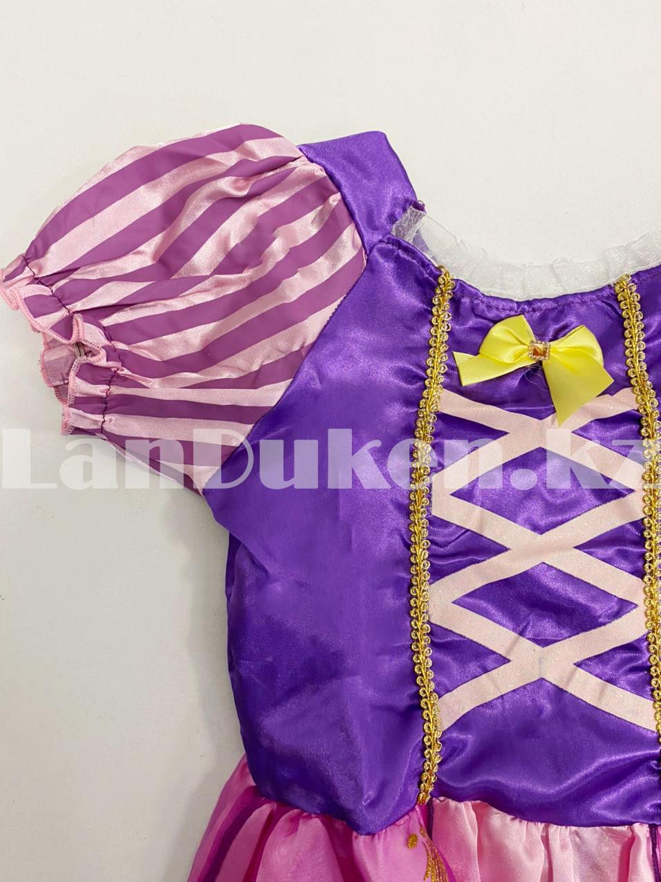 Костюм детский карнавальный Рапунцель принцесса для девочек фиолетовое BN-8002 - фото 8