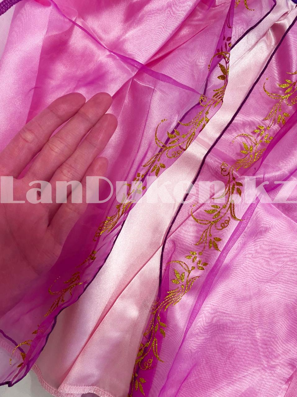Костюм детский карнавальный Рапунцель принцесса для девочек фиолетовое BN-8002 - фото 10