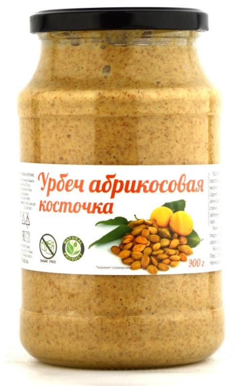 Урбеч из ядер абрикосовых косточек, 900 г