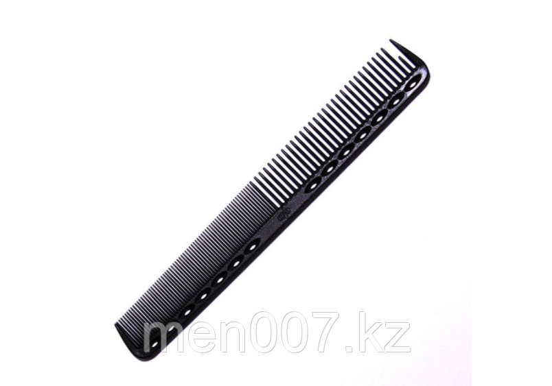 Антистатическая расческая для волос Y.S. Park  черная 18 см (копия)
