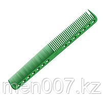 Антистатическая расческая для волос Y.S. Park  18 см зеленая (копия)