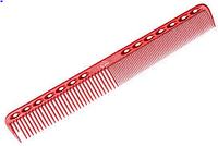 Антистатическая расческая для волос Y.S. Park красная 18 см (копия)
