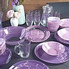 Столовый сервиз Simply Luminarc Kashima Purple 46 предметов, фото 5