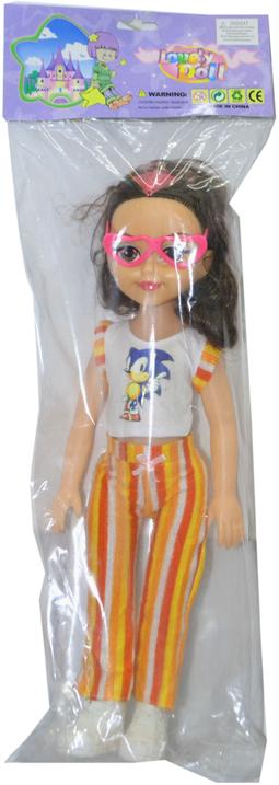 FT180 Кукла Lovely Doll с очками 57*18
