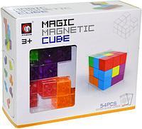 730A Магнитные детали прозрачные делаем Куб 54дет 16*19см
