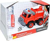 B11742 Пожарная машина разбирайка   серия конструктор 33*20см