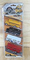 D-59 EXTREME CAR автобусы машины металл 4шт в прозрачной упаковке,32*13см