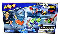 7711 Трек Nelf Nitro 2 машины с запуском (реплика,не оригинал) 53*31см