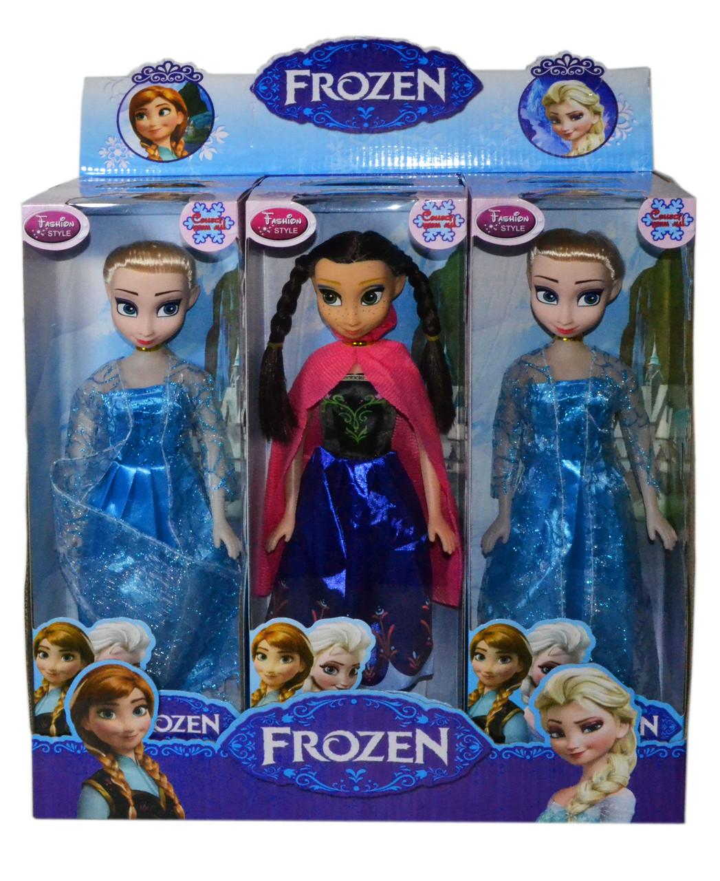 8783 Кукла 18см Холодное сердце, 6шт в уп, цена за 1шт