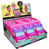 PG8019 PG AMG LOL кукла в фургоне 3шт в уп,цена за 1шт 32*22см