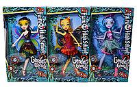 DH2176 Монстер хай с крыльями 3 вида (руки,ноги сгибаются) Fairy High School 32*17см