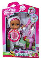 BLD 280-2 Кукла одежда единорога с аксесс. (руки,ноги сгибаются) 39*27см, фото 1
