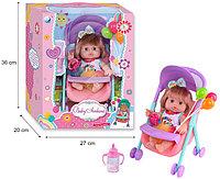 A551 Baby Ardana кукла пупс на коляске 36*27см