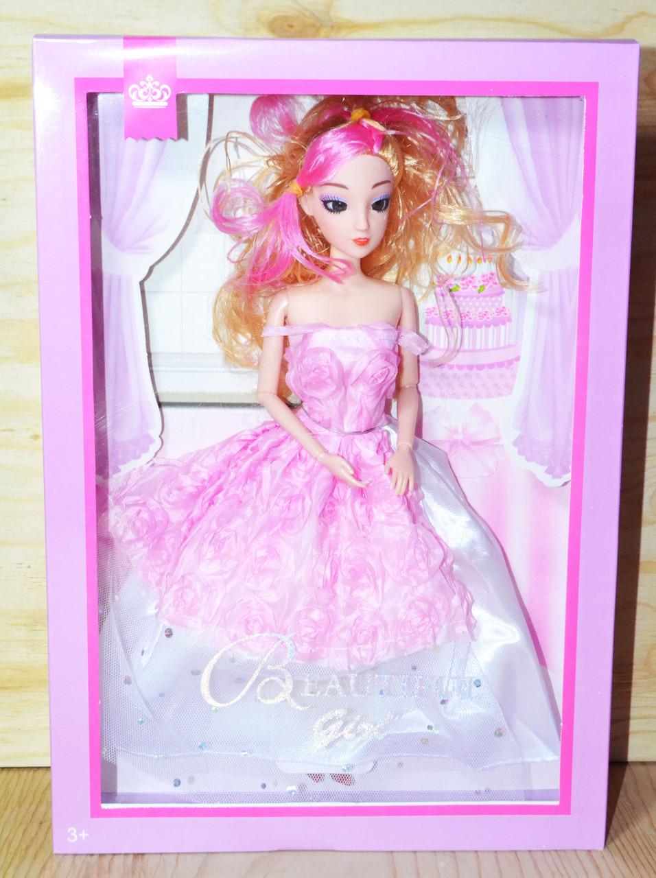 ZR-595 Кукла пышное платья Beautiful Girl 2вида 33*23см