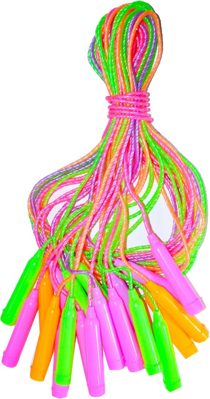 Скакалка спиральная  (толщина 0,5см) 10шт цена за уп.