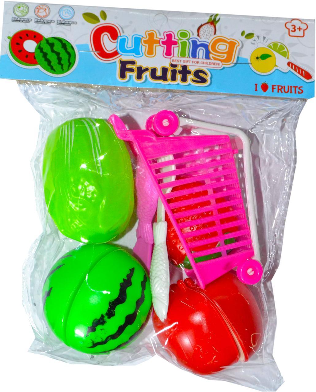 388 Фрукты Cutting Fruits в тележке, можно резать 20*12см