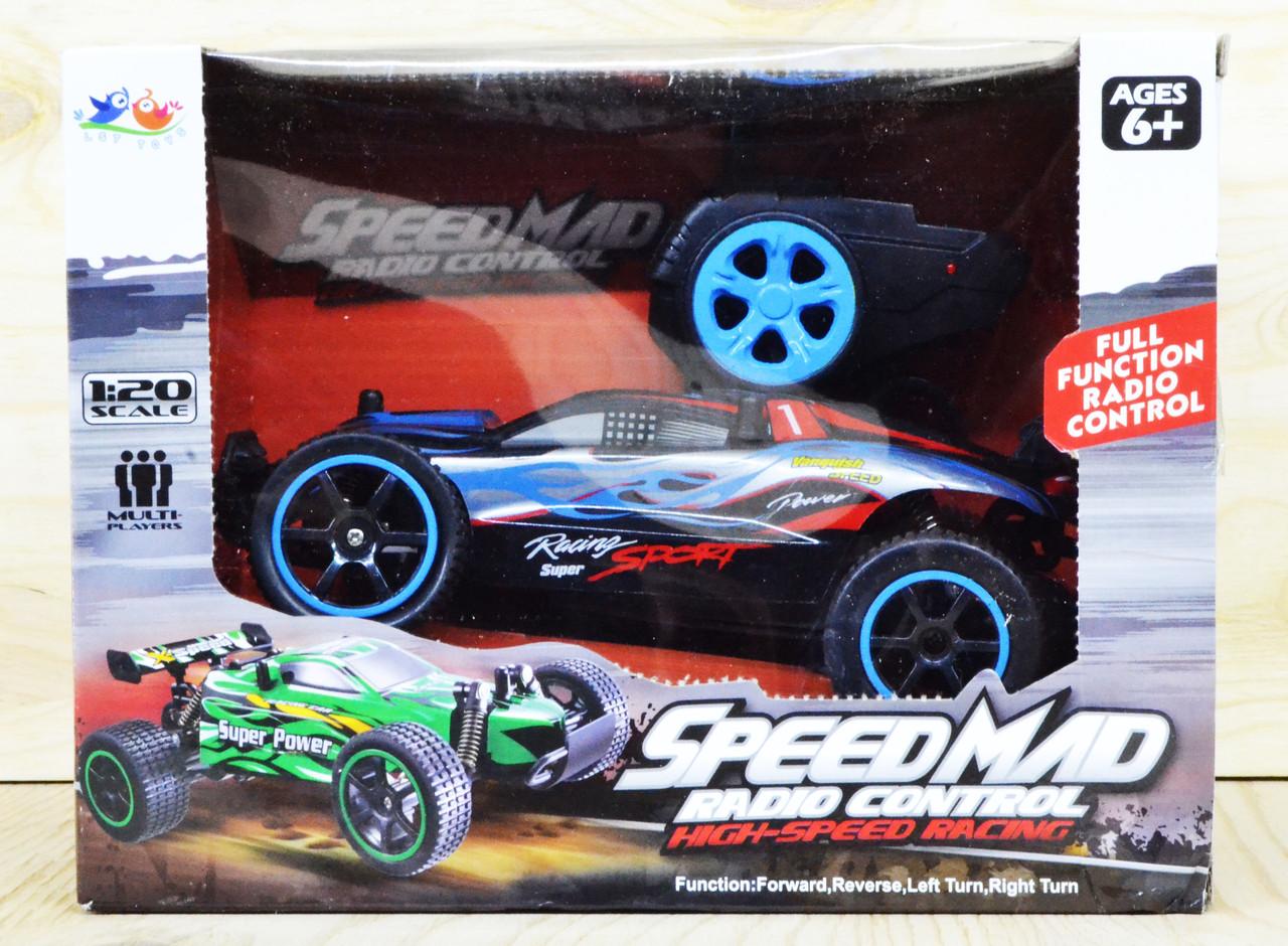 82018 Спортивная машина Speed Mad на р/у 4 функции 25*19см