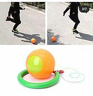 Нейроскакалка с мячом с паралоновым (пластиковый,светится)