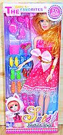 Q16 Sweet Fashion Style кукла с аксесс.,сгибается в суставах, 32*13см